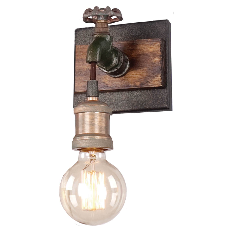 Настенные светильники в стиле лофт